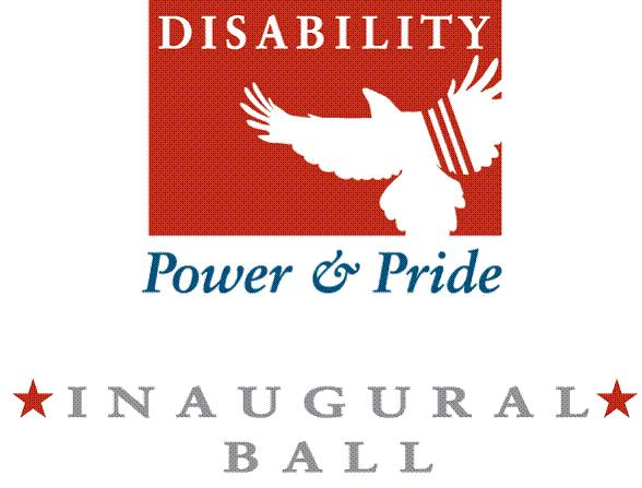 Disability Power and Pride Ball Logo