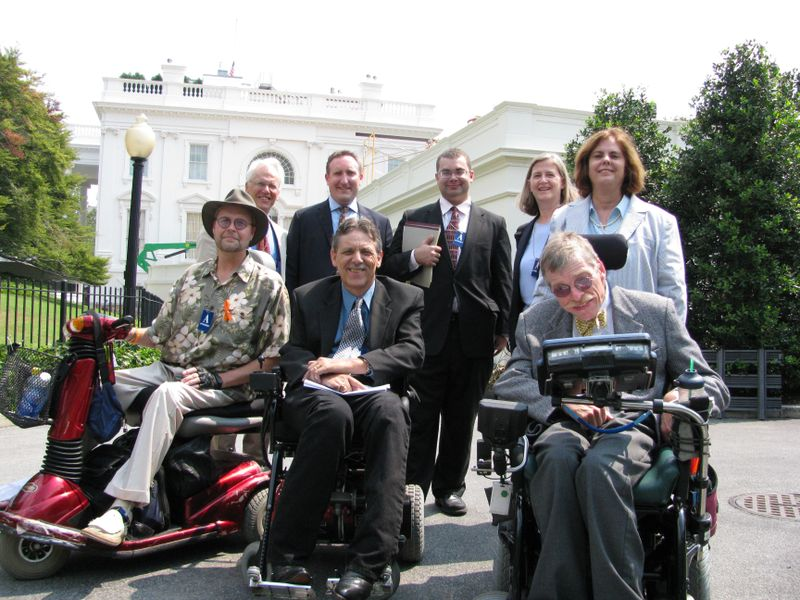 LTSS Disability Leaders at WH