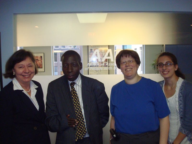 AAPD meets with Uganda Disability Leader DSC03151