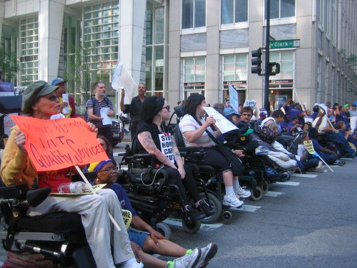 Accessliving chicago street