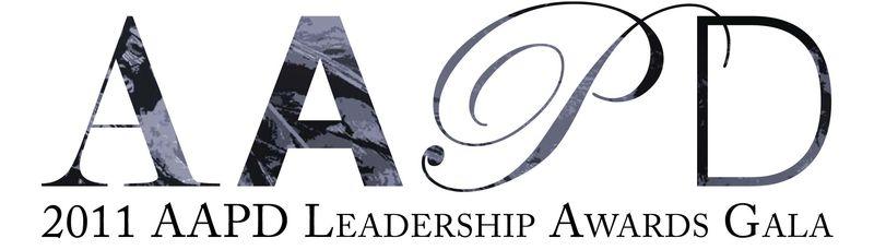 AAPD 2011 Gala Logo