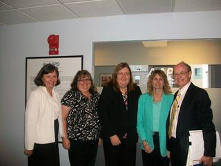 Disability Trust from AU visits AAPD 6.6.11