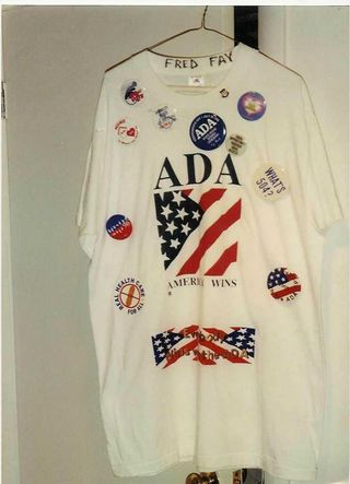 Fred Fay Advocacy T-Shirt in Smithsonian
