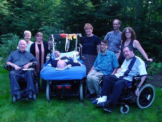 Fred Fay with Disability Advocates